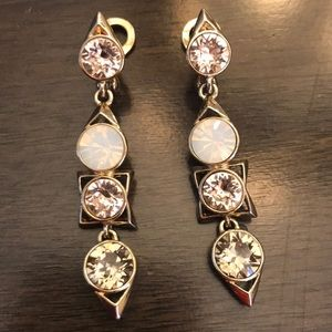 Givenchy Clasp Dangle Earrings